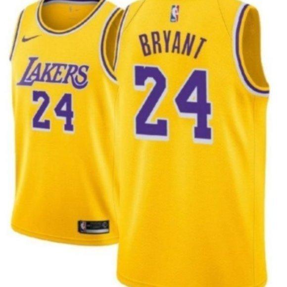 Shirts | Youth Kobe Bryant Los Angeles Lakers Jersey 24 | Poshmark